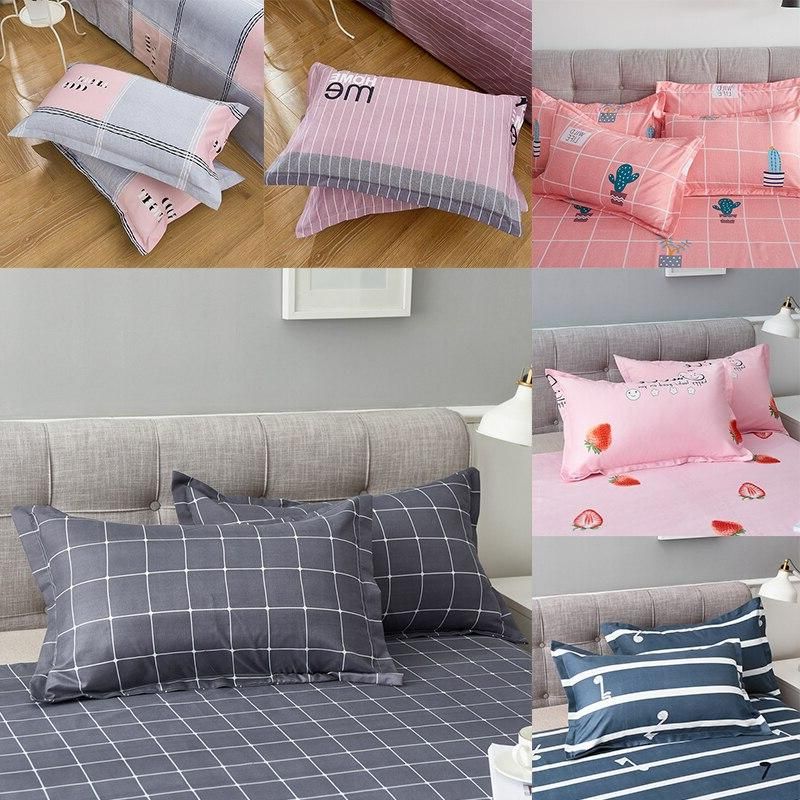 1Pc 48 74 Printed 100% Polyester <font><b>Case</b></font> For <font><b>Bedroom</b></font> With 16 Patterns Optional