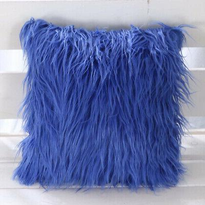 1pc New Cushion Throw Fluffy Bed Pillow Case