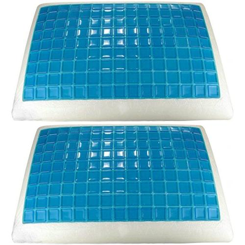 2 queen memory foam cooling
