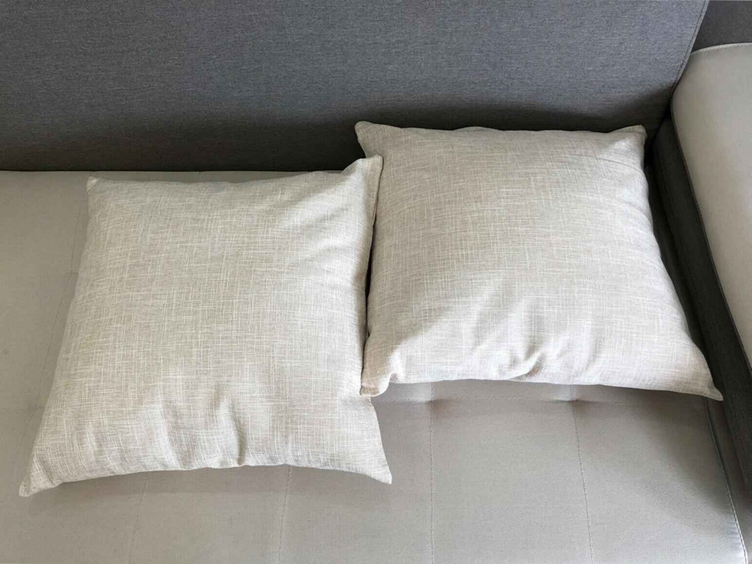 """20""""x20"""" Linen Throw Cases Cushion Covers Pillow Cover"""