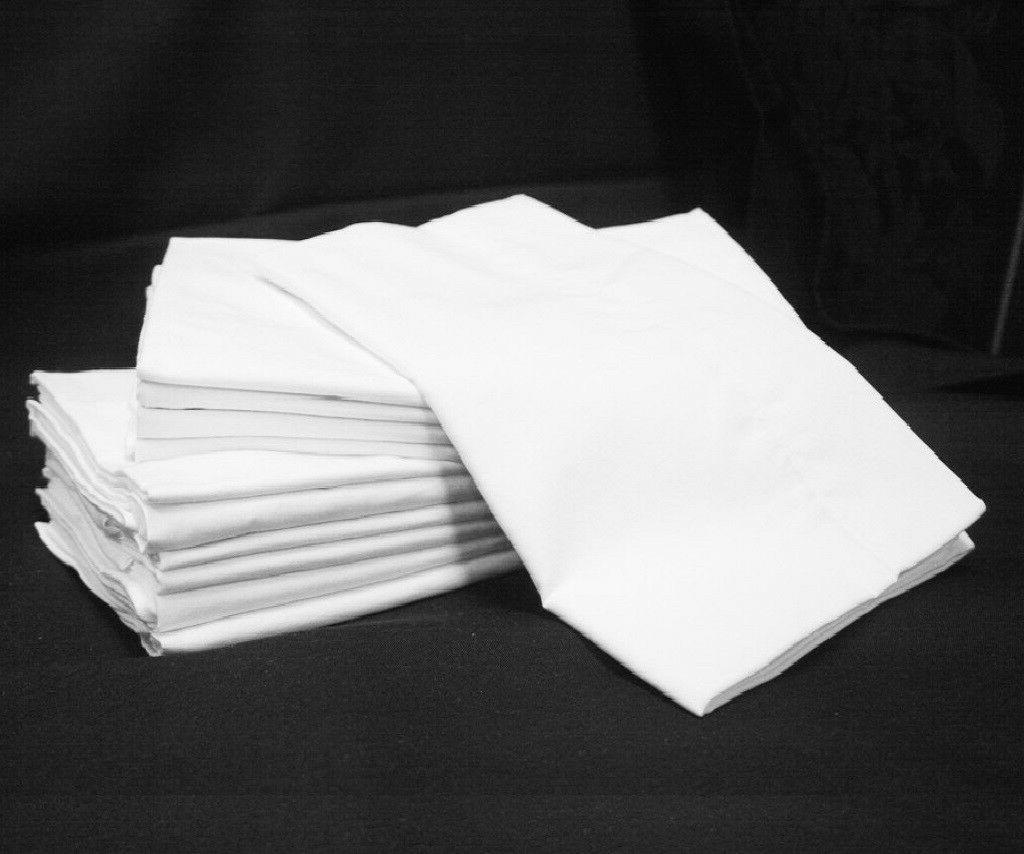 24  white hotel pillow cases standard size georgia towels su