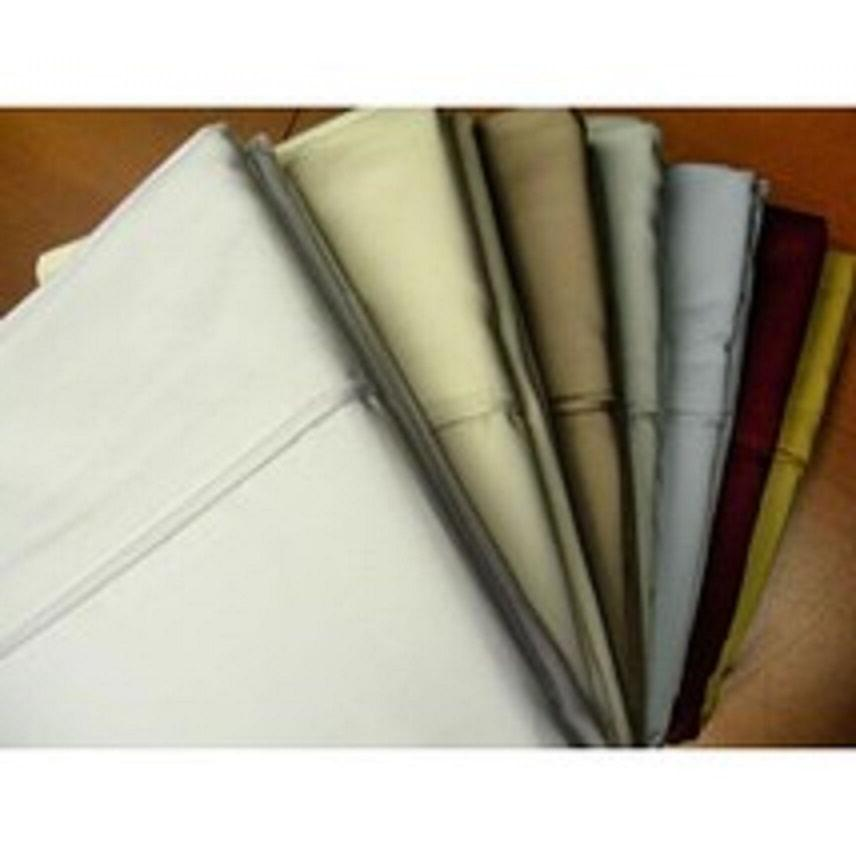 2Pc 600 Thread Count King Size Egyptian Cotton Pillow Cases