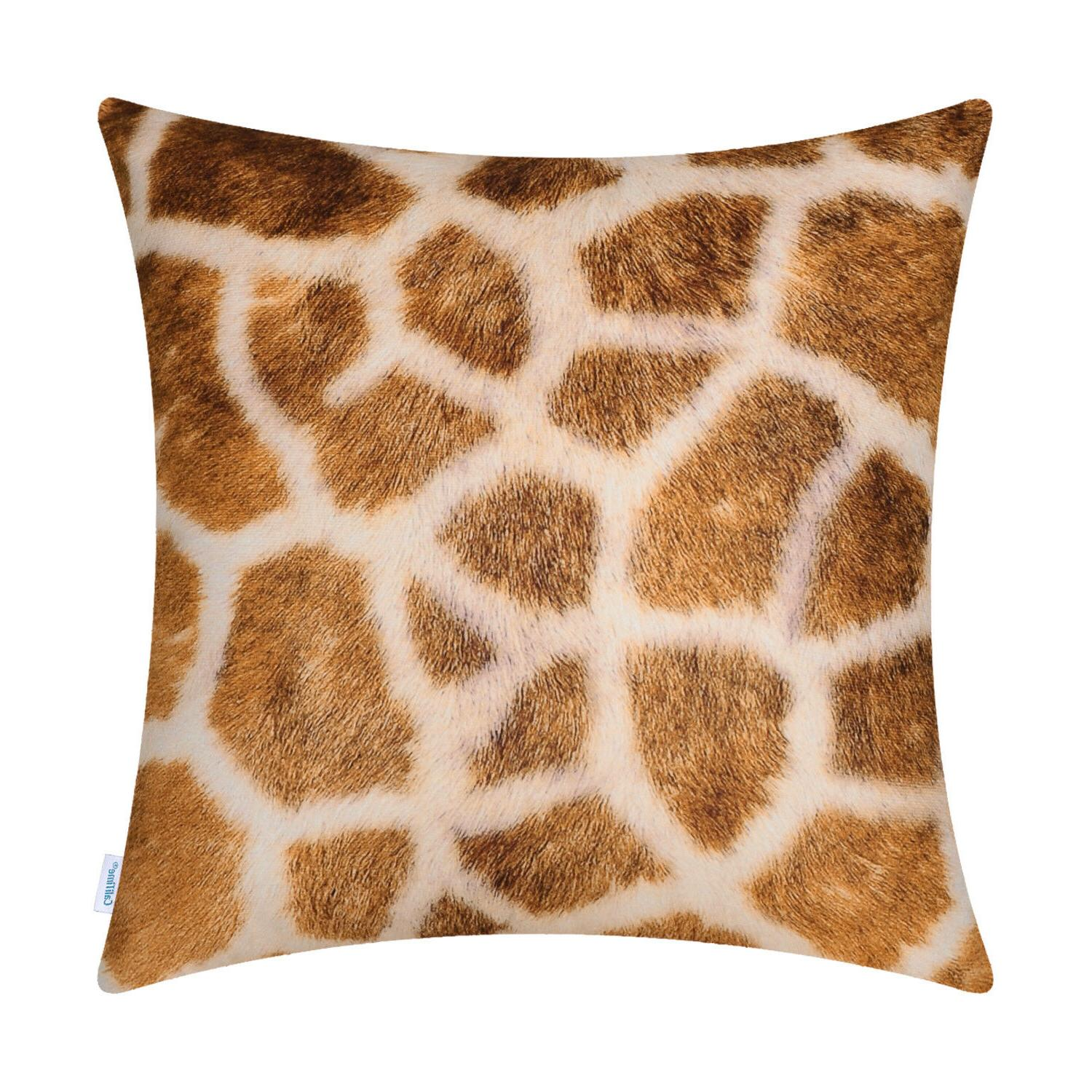 2pcs fleece pillow cases covers for couch