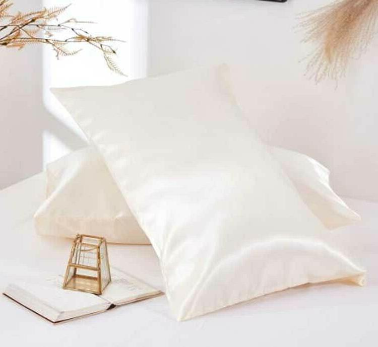 2Pcs Cases Stain Soft Pillowcase Home