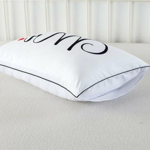 2PCS Hotel Decor Standard Cases Bed Cover