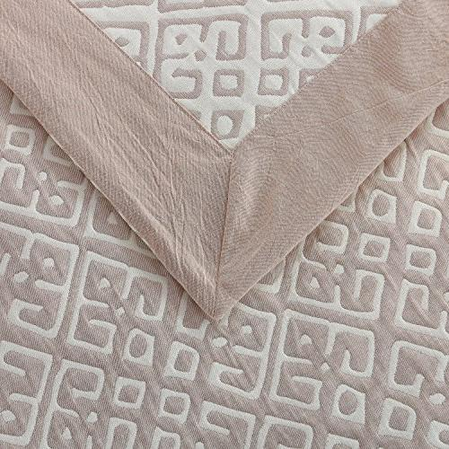 NTBAY Cotton Woven Pillowcases Cushion Set of Queen Size,