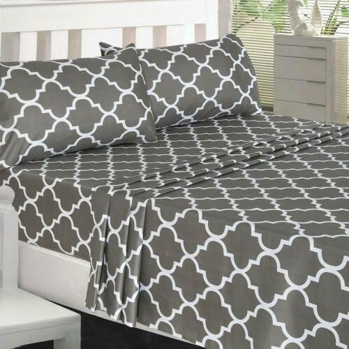 Utopia Bedding Sheet Set Sheet, Fitted Sheet, and 1