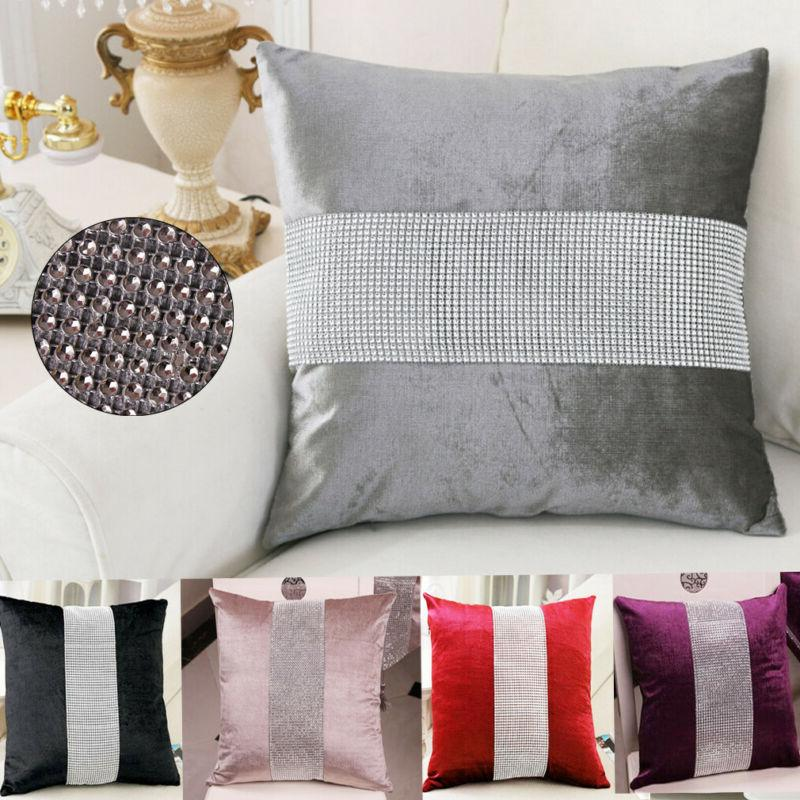 45X45 CM Fashion <font><b>Flannel</b></font> Pillowcase Cushion Decor
