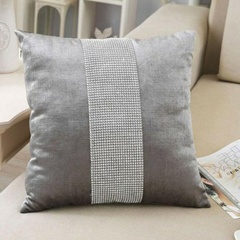 45X45 <font><b>Flannel</b></font> <font><b>Pillow</b></font> <font><b>Case</b></font> Cushion Covers Standard Decor