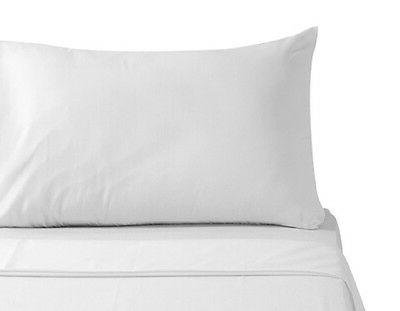 4 pack  white standard 20''x32'' size hotel pillow cases cov