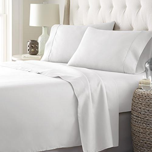HC Collection Collection 1800 Series Set, Deep Pockets, & Fade Sheet & Pillow Case Set
