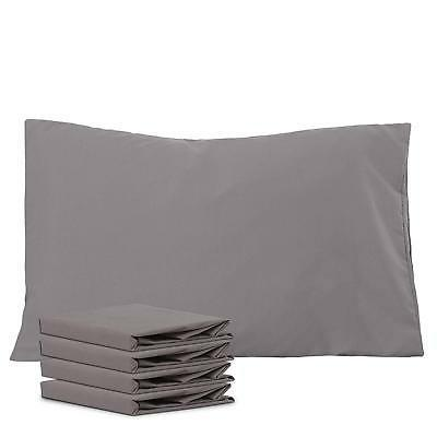 NTBAY 100% Brushed Microfiber Pillowcases Set of 4 Soft and