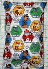 Paw Patrol characters on white Small Pillow Case & Travel /