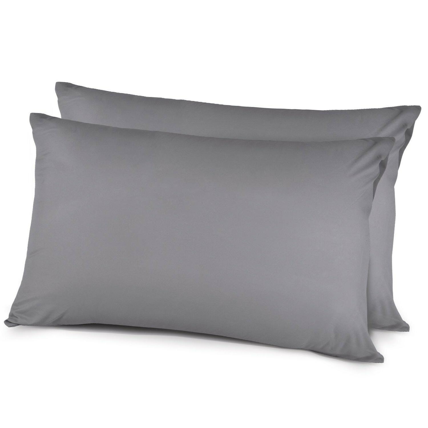 Pillow Cases Queen Size - 100% Brushed Microfiber, Ultra Sof