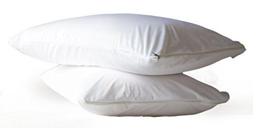 TRU Lite Bedding Dust Mite Pillow Covers - Hypoallergenic Pi