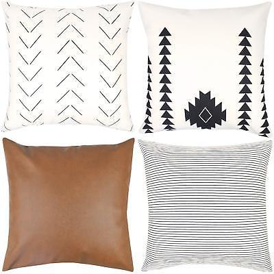 Woven Decorative Pillow ONLY Couch, Set