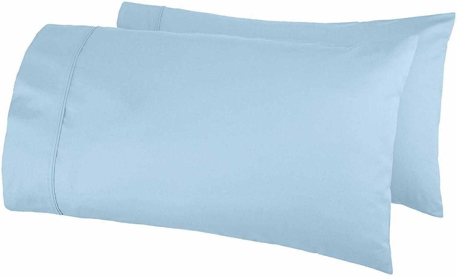 amazonbasics 400 thread count pillow cases standard