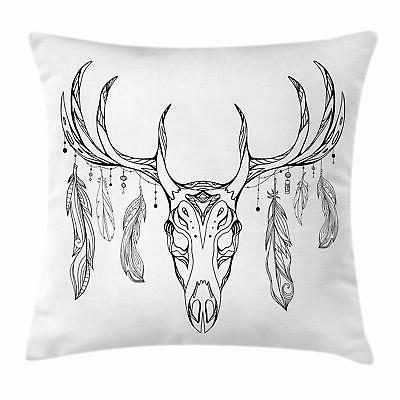 antlers throw pillow cases cushion covers home