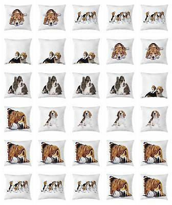beagle throw pillow cases cushion covers by