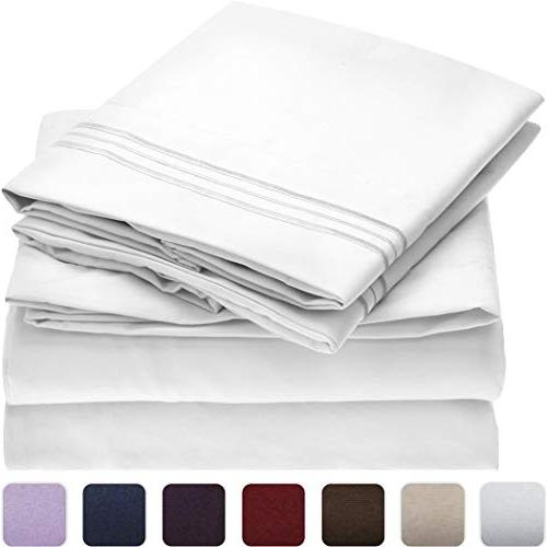 bed sheet set 1800 collection
