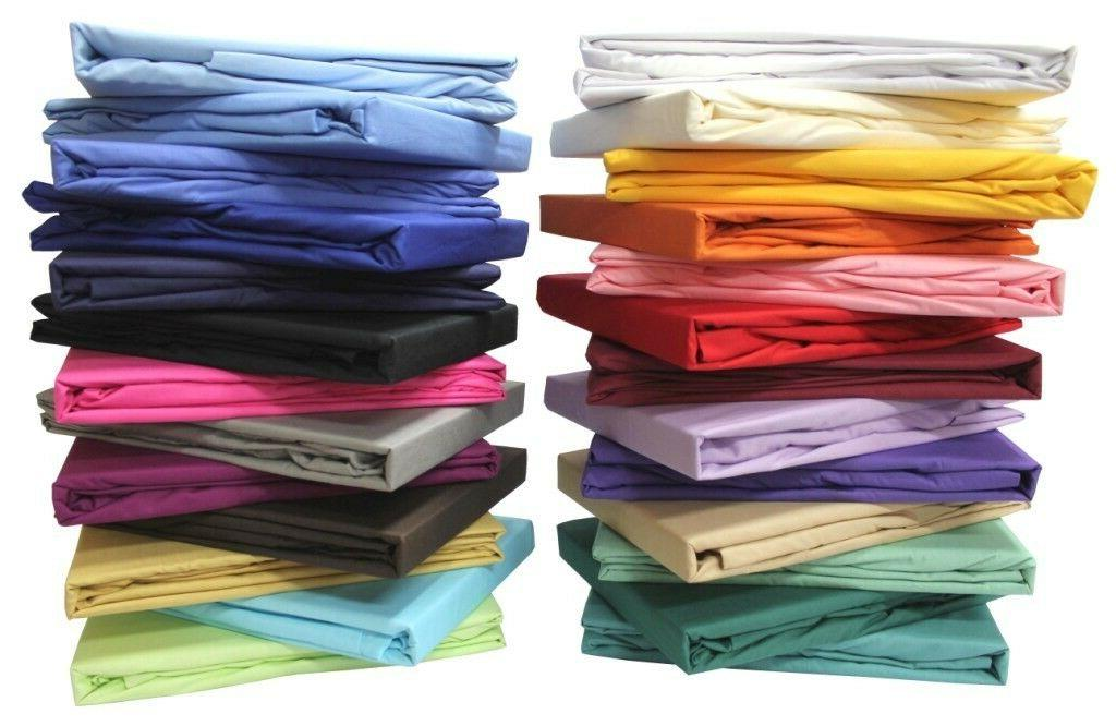 bed sheet set solid all colors