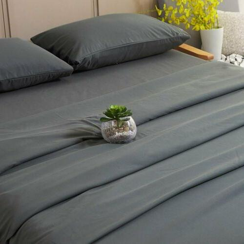Bed Sheets Cases GREY