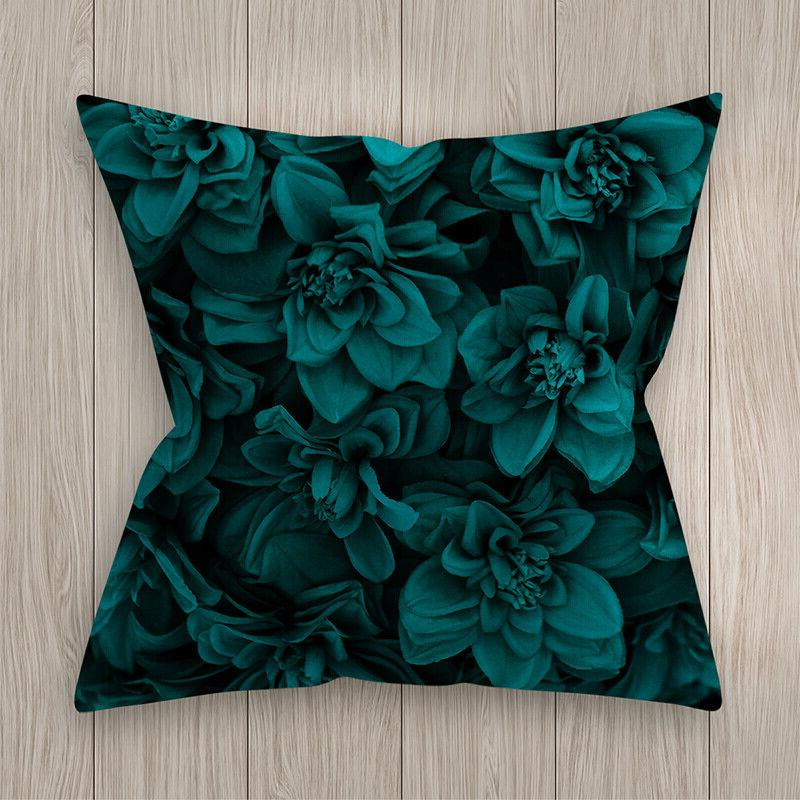 Blue Waist Throw <font><b>Pillow</b></font> Cover Square