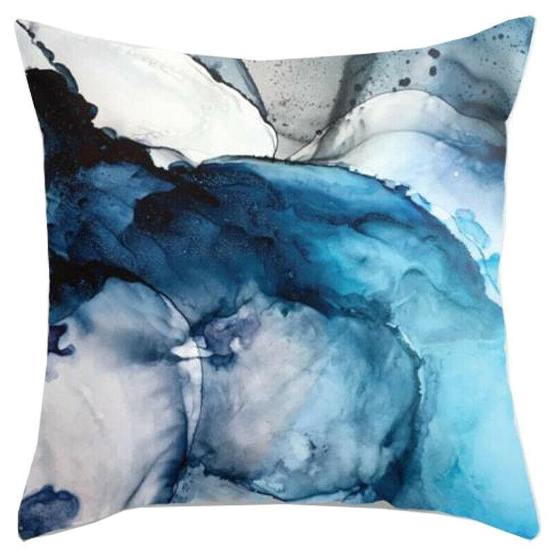 Blue Cases Sofa Throw Cover Decor