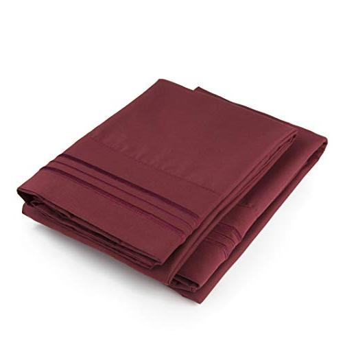 Cases - Set - Soft and Comfortable Fits - Two Pillow