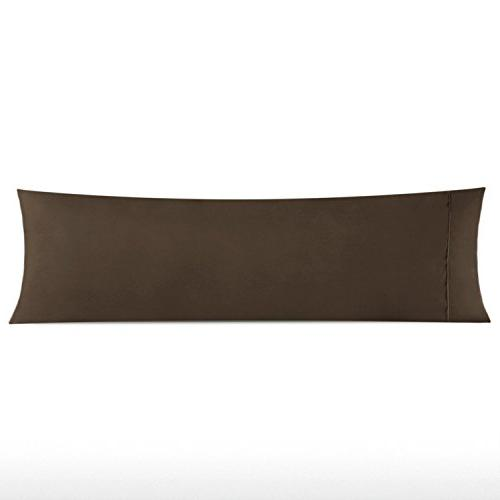 chocolate pillow cover pillowcase solid