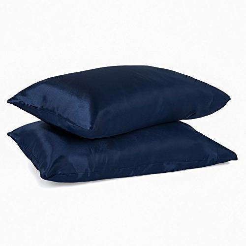 collection king pillow cases satin