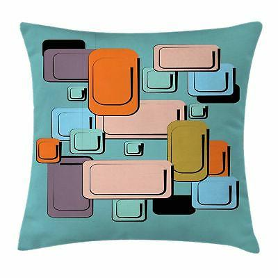 colorful cartoon throw pillow cases cushion covers