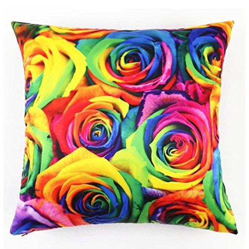 colorful printing cushion cover home