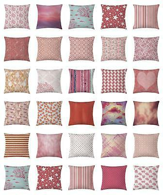 coral throw pillow cases cushion covers home