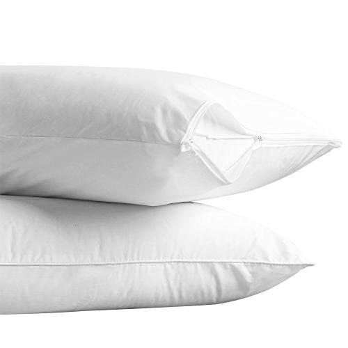 cotton allergy protection pillow protector