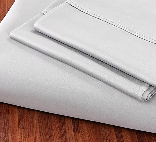 Utopia Cotton - 4 Set, Flat Sheet Cases