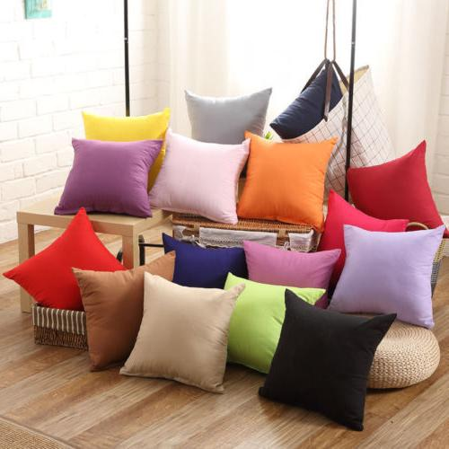 US SHip Cushion Cover Case for Sofa Home Car Throw Pillow Ca