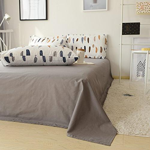 BuLuTu Bed 2 Queen White Covers Standard Kids End-Premium,Ultra Soft,Hypoallergenic,Breathable
