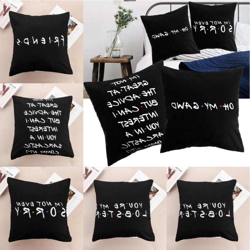sofa printed polyester pillow covers pillow cases
