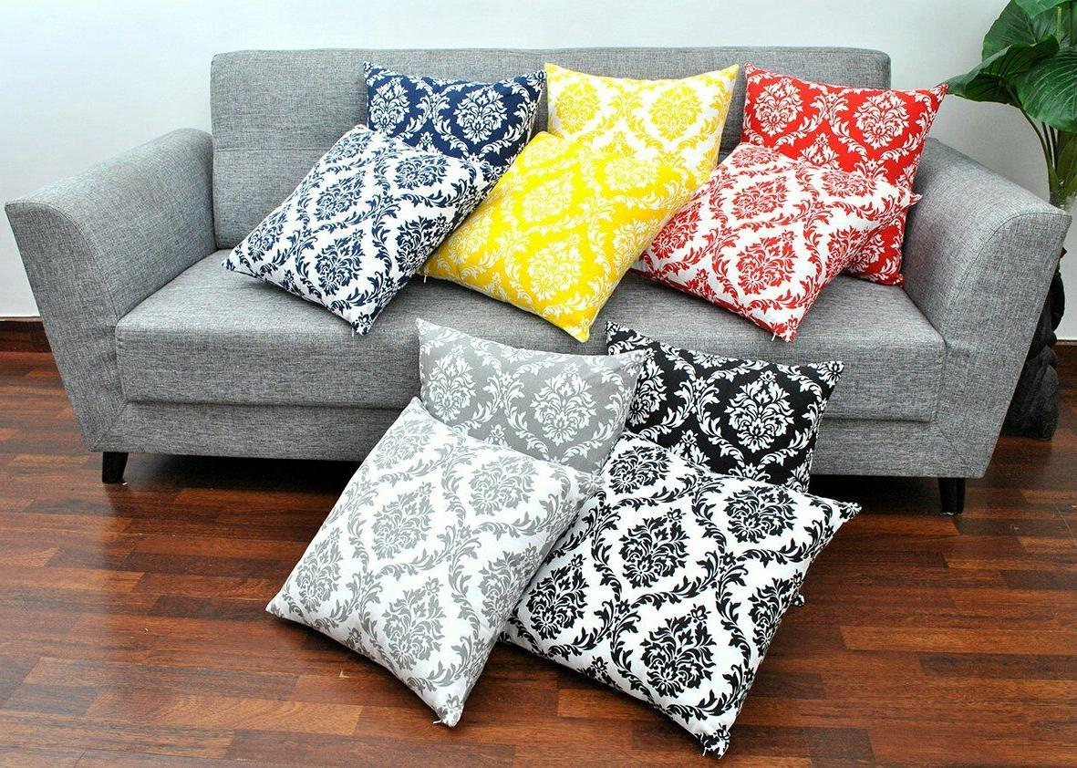 decorative damask pillow cover cushion cover pillow