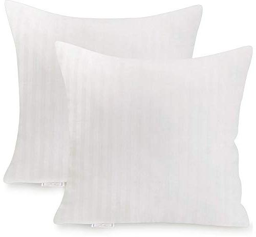 Cotton Square x 18 Decorative Pillow Insert by Utopia Bedding - PACK