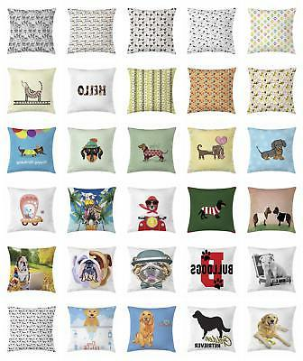 dog throw pillow cases cushion covers by