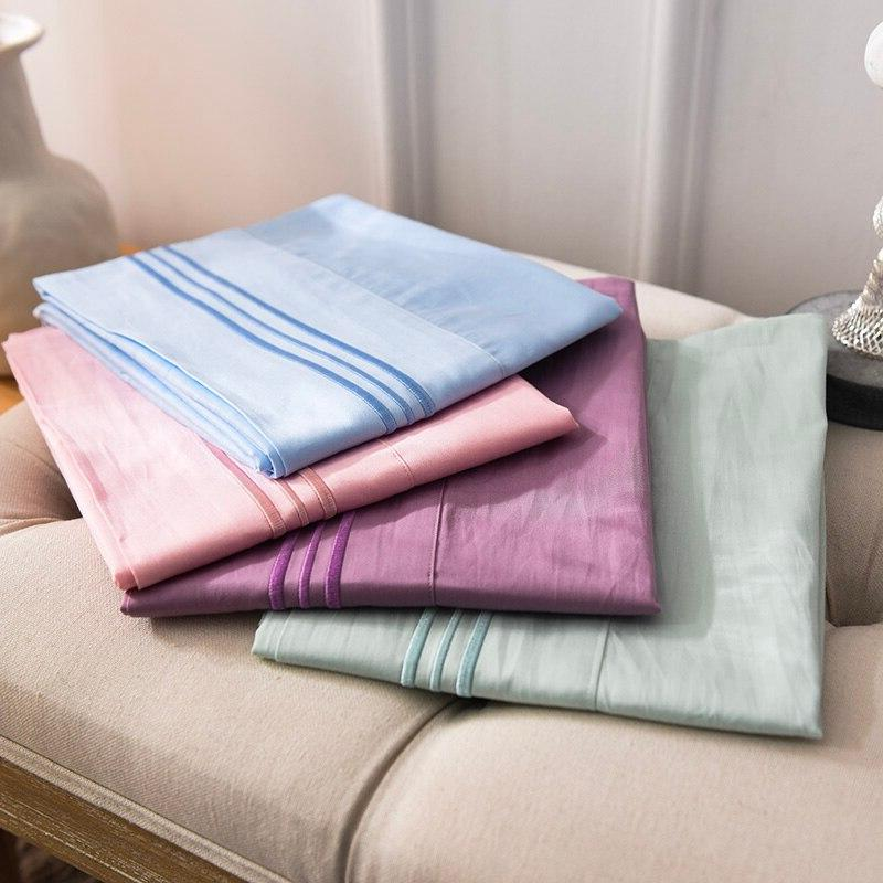 Embroidery Pillowcase <font><b>Pillow</b></font> <font><b>Case</b></font> Good <font><b>Pillow</b></font> Cover Multiple colors available #sw
