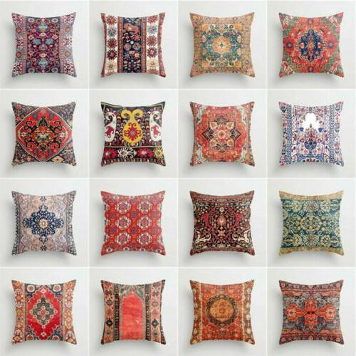 Ethnic Throw Case Sofa Decor