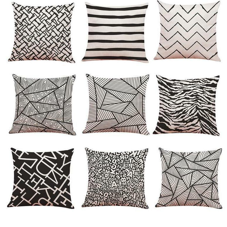 Polyester Pillow Cover Home
