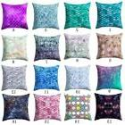 Geometric Polyester Throw Pillow Cases Sofa Cushion Cover Ho