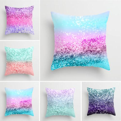 Geometric Printed Polyester Pillow Cases Cushion Cover Home Decor