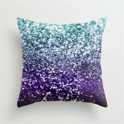 Geometric Printed Polyester Pillow Cases Sofa Cover
