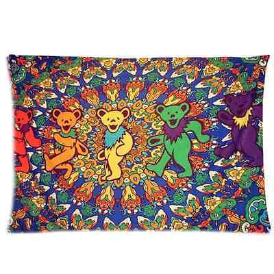 Brand New The Grateful Dead Rectangle Pillow Case 20x30 Inch