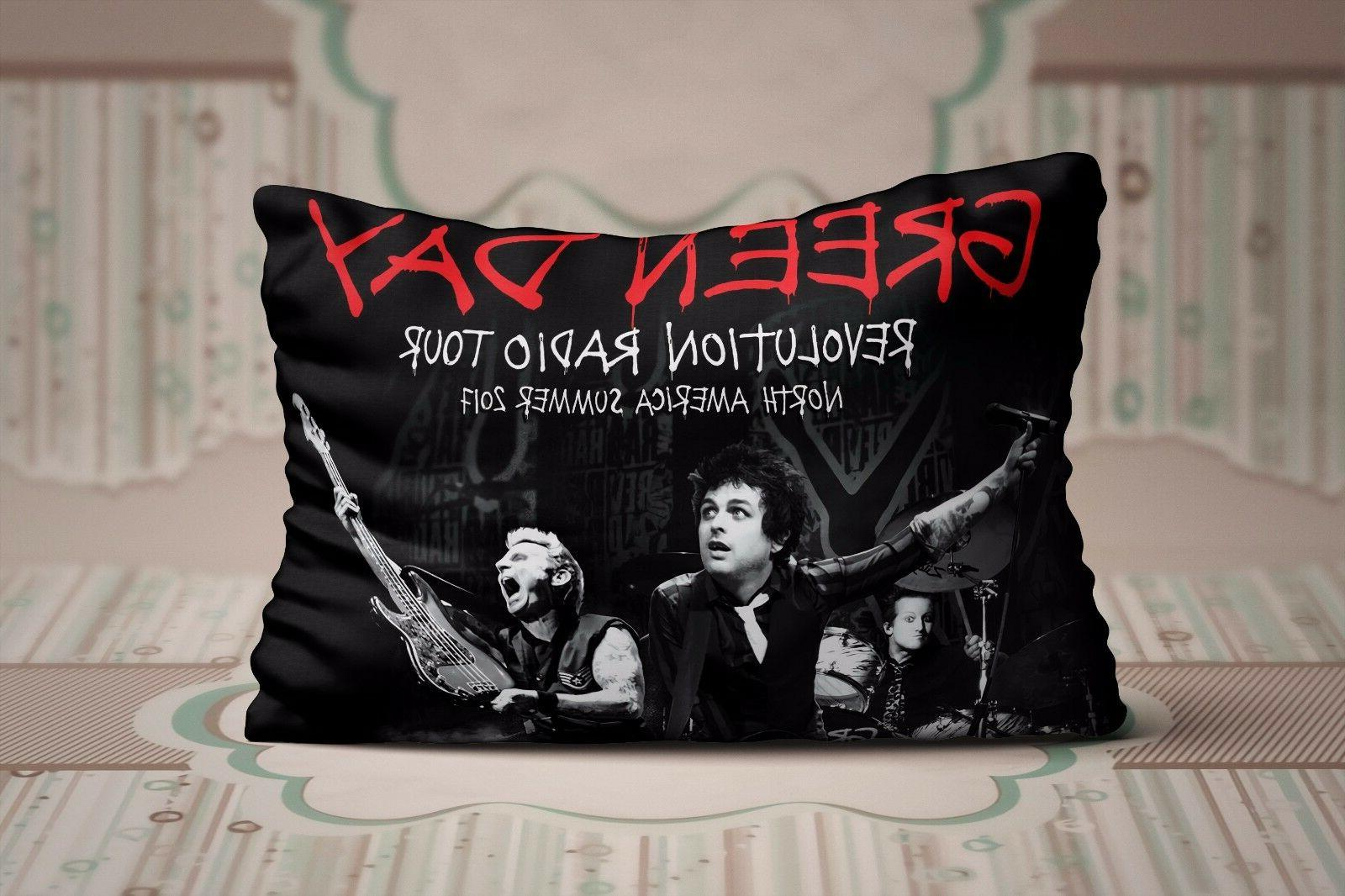 Green Day Concert Revolution Radio North American Zippered Pillow Cases 20X30